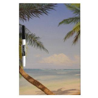 Stylish Palm Tree Dry Erase Board