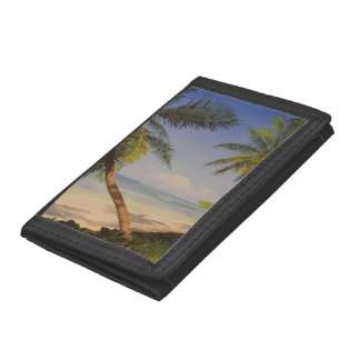 Stylish Palm Tree Trifold Wallet