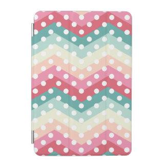 Stylish Polka Dot ZigZag iPad Mini Cover