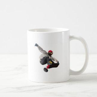 Stylish skater basic white mug
