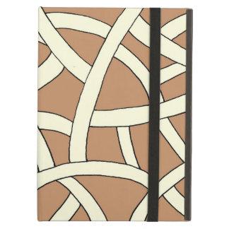 Stylish stripes fantasy iPad air cover