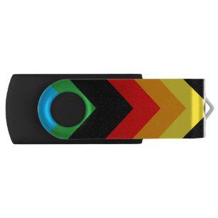Stylish Triangle USB Flash Drive
