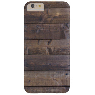 Stylish Wood Pattern - Nature Wood Grain Texture Barely There iPhone 6 Plus Case