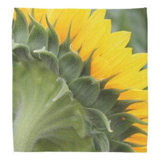 Stylish Yellow Sunflower Designer Floral Bandana