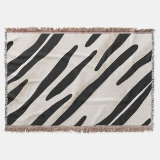Stylish Zebra Print Throw blanket Coordinate