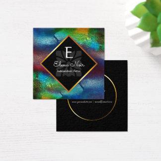 Stylist, Hair Stylist, Nail Technician, Beautician Square Business Card
