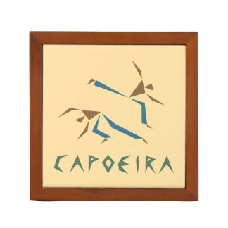 Stylized Capoeira Desk Organiser