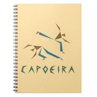 Stylized Capoeira Notebook