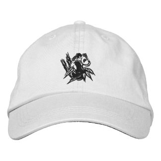 Stylized Panda Embroidered Cap