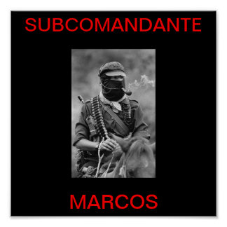 SUB MARCOS POSTER