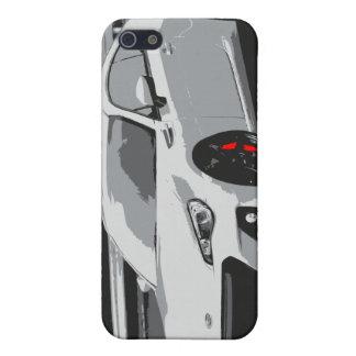 Subaru BRZ in White iPhone 5/5S Case