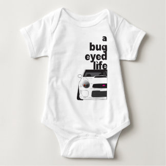 Subaru Bug Eyed Life Baby Bodysuit