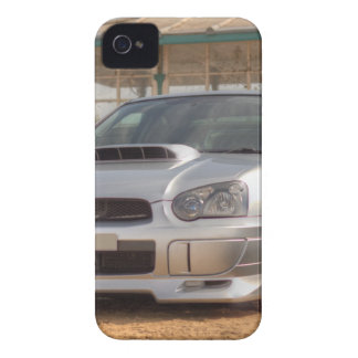 Subaru Impreza STi - Body Kit (Silver) iPhone 4 Case-Mate Case