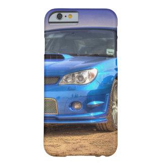 "Subaru Impreza STi ""Hawkeye"" in Blue Barely There iPhone 6 Case"