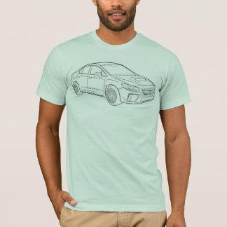 Subaru WRX Sketch T-Shirt