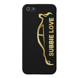 Subbie Sti Love Love Silhouette Logo iPhone 5/5S Case