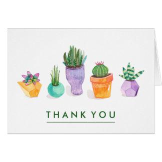 Succulent Display Card