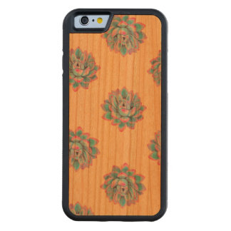 Succulicious Wood Carved Cherry iPhone 6 Bumper Case