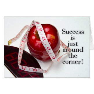 Sucessful Dieting Greeting Card