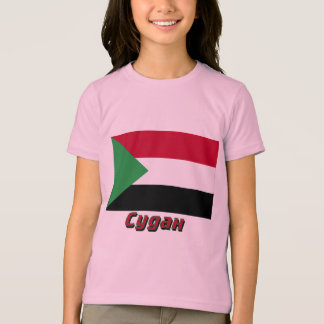 Sudan Flag with name in Russian T-Shirt