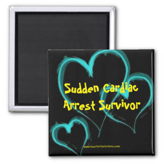 Sudden Cardiac Arrest Survivor Magnet