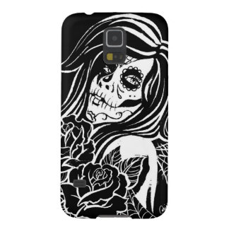 Sugar - Day of the Dead Girl Galaxy S5 Cover