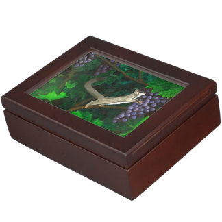 Sugar Glider in Grape Vines Keepsake Box