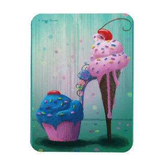 Sugar Shoe Rectangular Photo Magnet