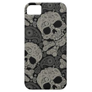 Sugar Skull Crossbones Pattern Apple iPhone 5 Case
