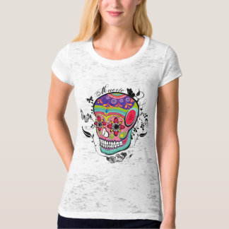 Sugar Skull Day of the Dead Illustration. T-Shirt