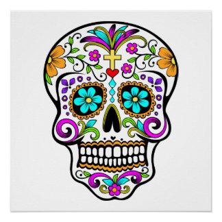 "Sugar Skull ""Day of the Dead""  Poster"