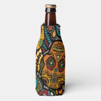 SUGAR SKULL Halloween Bottle Cooler