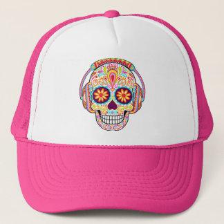 Sugar Skull Hat - Day of the Dead Cap