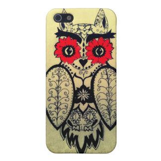 Sugar Skull Owl iPhone 5/5S Cover