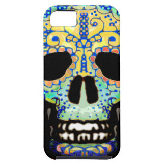 Sugar Skull with Roses Case For The iPhone 5