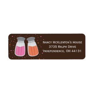 Sugar & Spice Return Address Labels