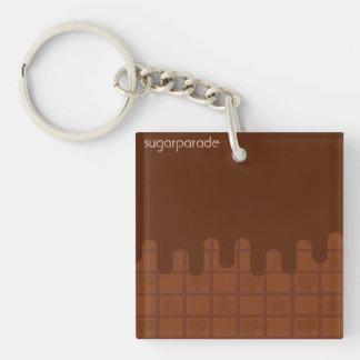 sugarparade Cocoa Ganache Acrylic Keychain