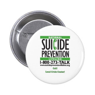 Suicide Prevention POSTER 6 Cm Round Badge