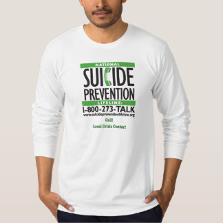 Suicide Prevention POSTER T-Shirt