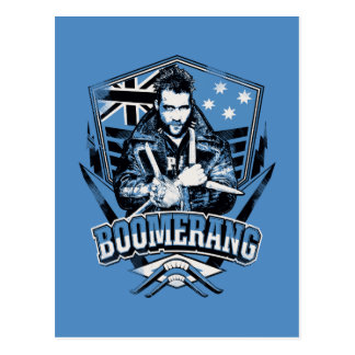 Suicide Squad | Boomerang Badge Postcard