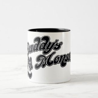 Suicide Squad | Daddy's Lil Monster Two-Tone Coffee Mug