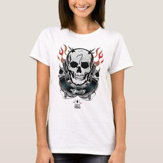 Suicide Squad | Diablo Skull & Flames Tattoo Art T-Shirt