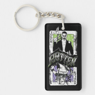 Suicide Squad | Joker & Harley Rotten Double-Sided Rectangular Acrylic Key Ring