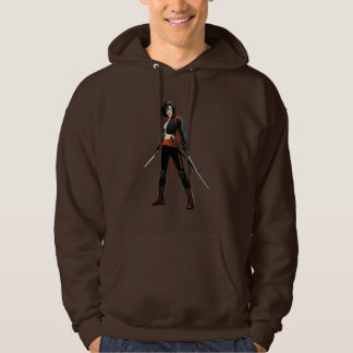 Suicide Squad | Katana Comic Book Art Hooded Pullovers