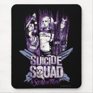 "Suicide Squad | Squad Girls ""In Squad We Trust"" Mouse Pad"