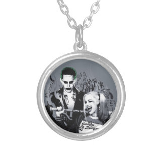 Suicide Squad   The Worst of The Worst Silver Plated Necklace