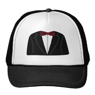 Suit And Dickie Bow Cap