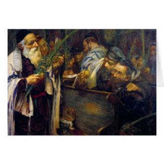 SUKKOT by Leopold Pilichowski - 1895 Card