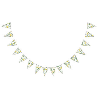 Sukkot Four Species Party Bunting Banner