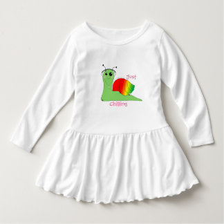 Sullivan la Snail loves music: Reggae Dress